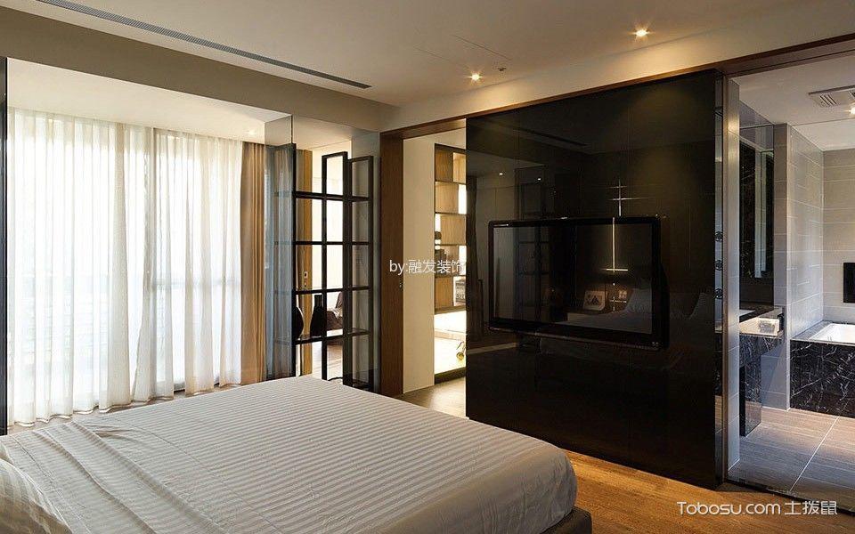卧室黑色走廊混搭风格装饰图片