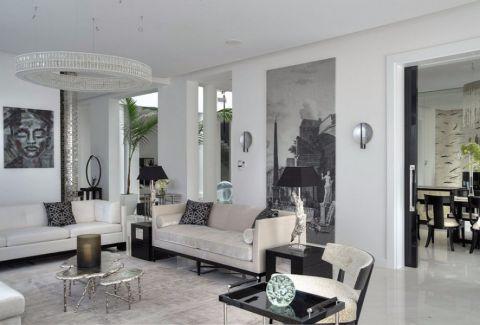 2018现代简约100平米图片 2018现代简约二居室装修设计