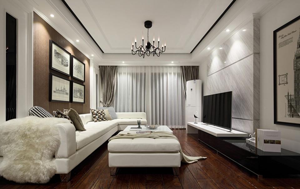 2室1卫2厅89平米现代简约风格