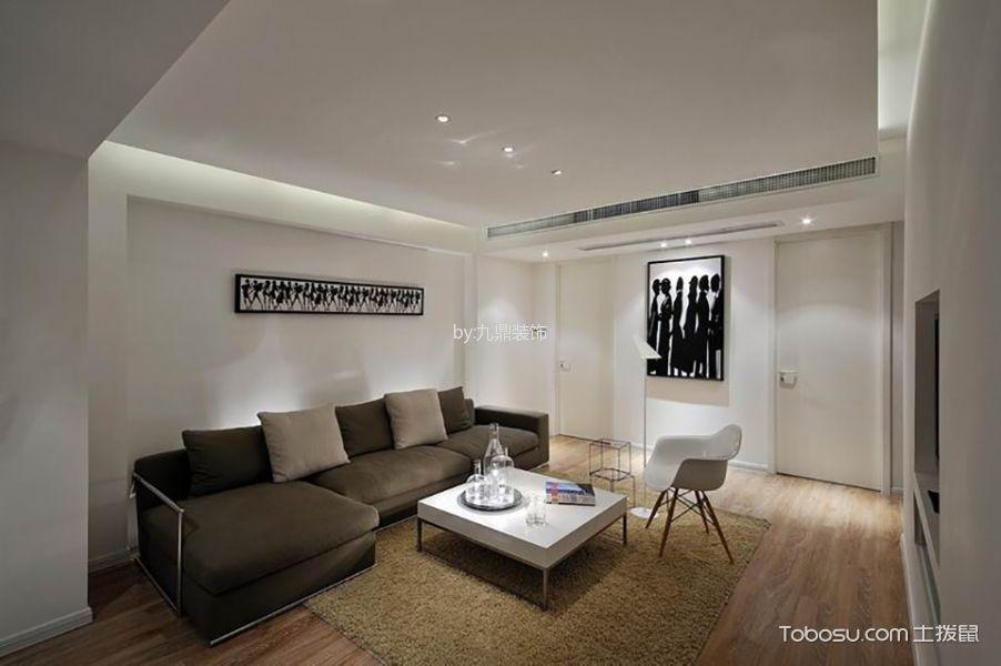 中徳英伦城邦四居室现代简约风格效果图