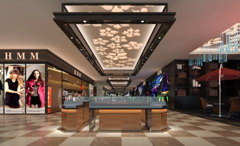 商场美食城装修设计效果图