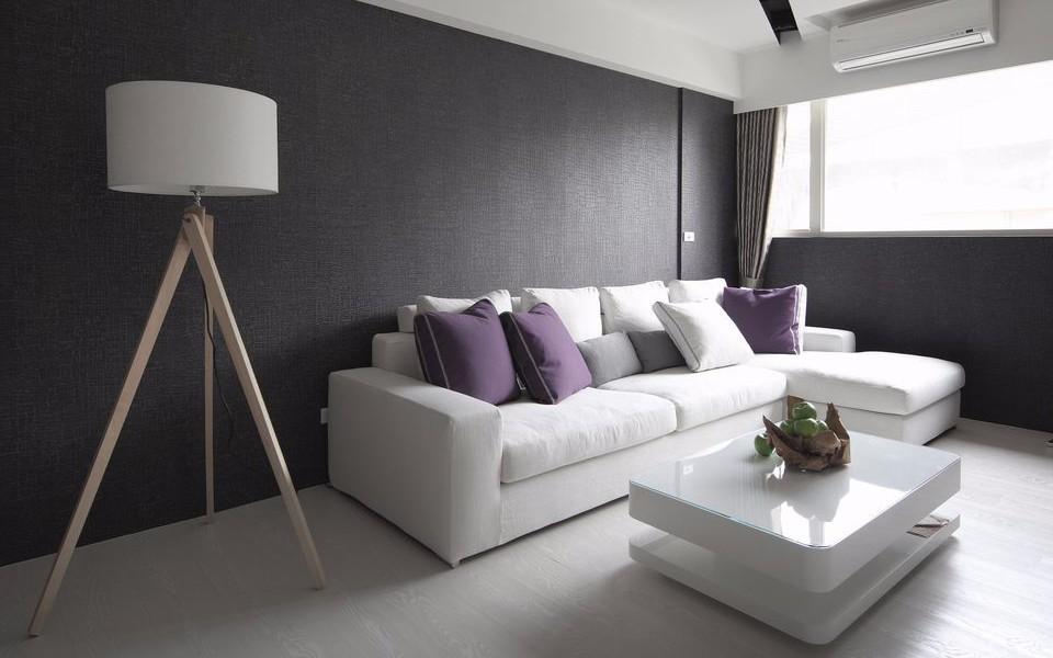 1室1卫1厅40平米现代风格