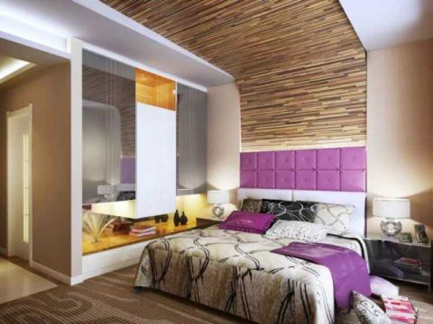 首创暖山现代简约风格二居室家装设计效果图
