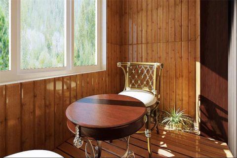 生活阳台窗台中式图片