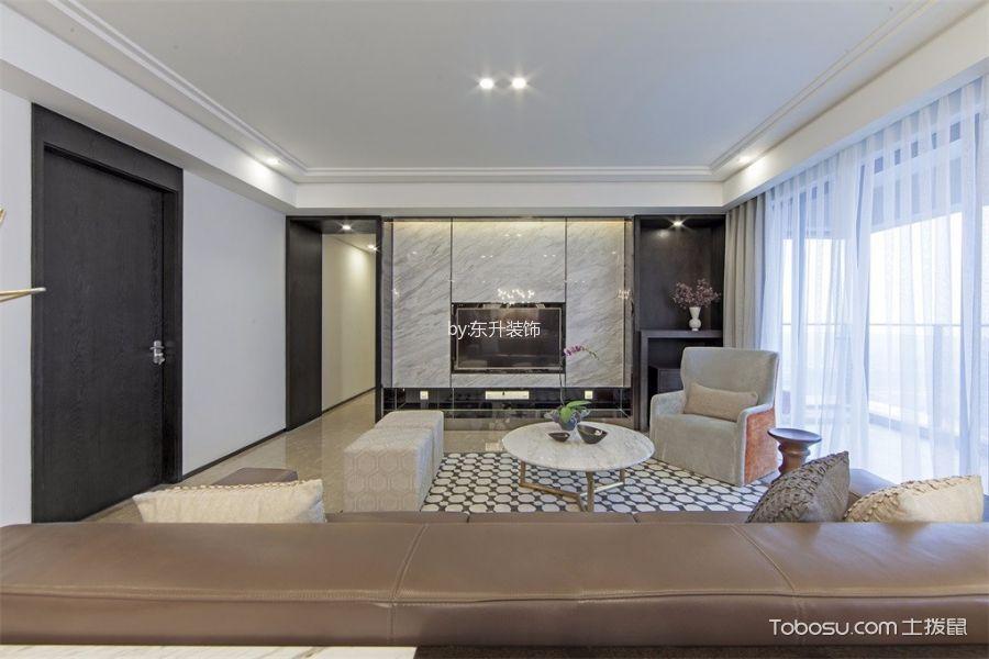 三居室160平米现代简约风格赏析