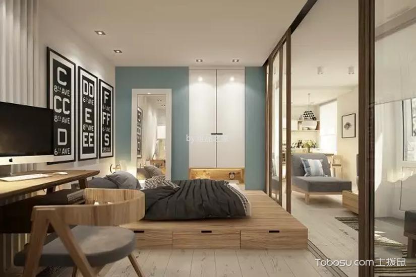 卧室 榻榻米_龙湖春江郦城日式风格案例图