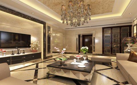 锦雲家园187平米欧式低调奢华风格效果图