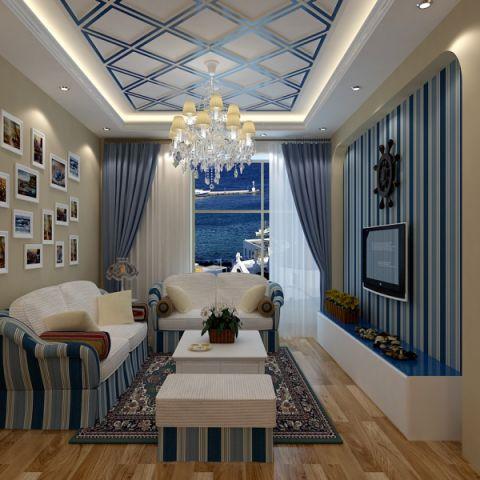 广福城的地中海装饰效果图