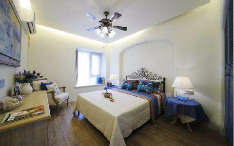冰蓝地中海二居室效果图