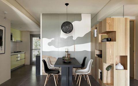 【11万】现代loft风格两房两厅86平米装修效果图