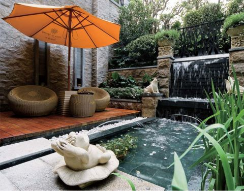 花园东南亚风格装修效果图