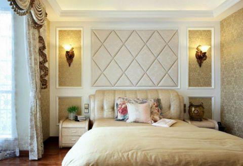 简欧风格二居室家装设计效果图