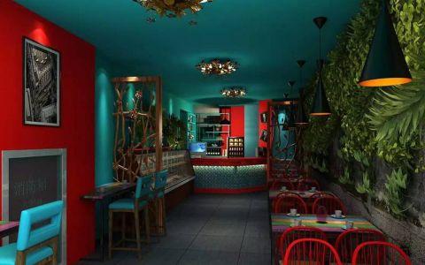 烹小轩170平原生态主题餐厅装修效果图