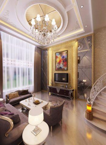 2020欧式150平米效果图 2020欧式别墅装饰设计