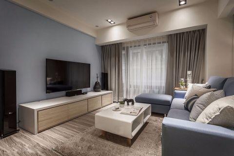 金色江南160平米北欧风格三居室装修效果图