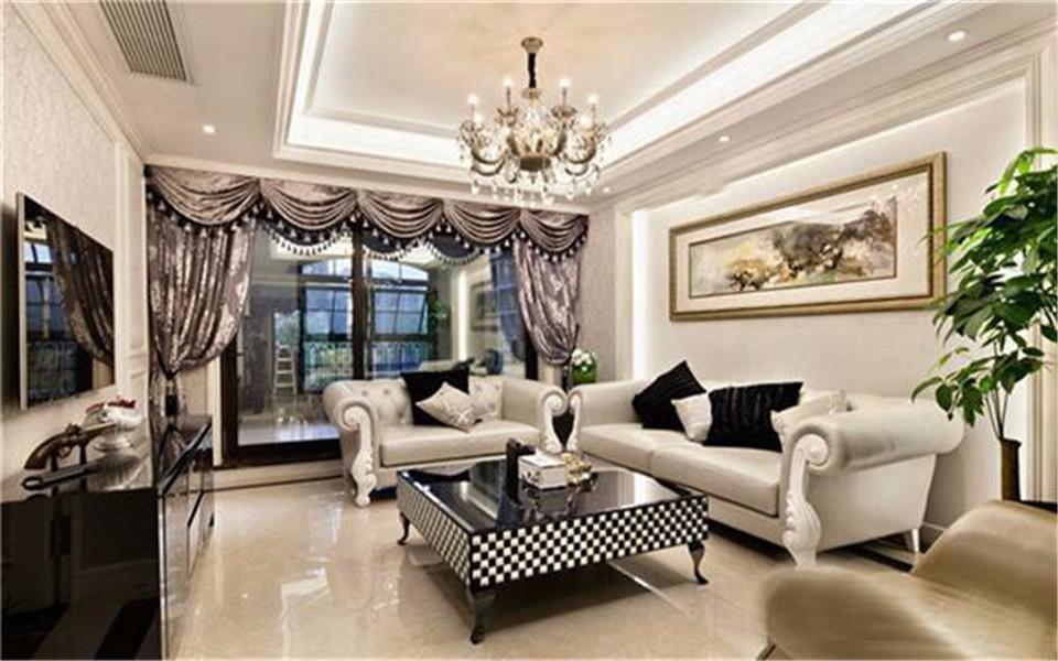 3室1卫1厅120平米混搭风格