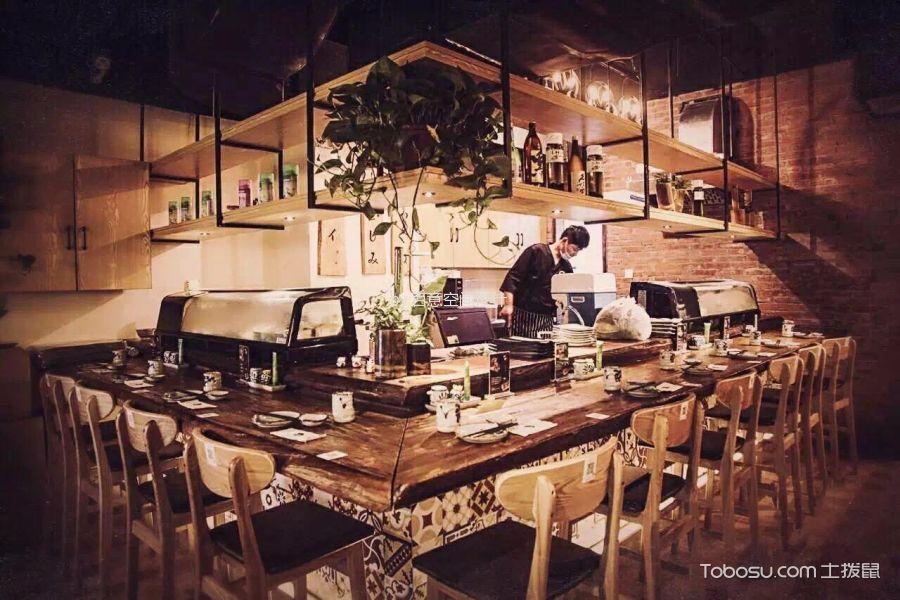 天工艺苑二楼餐馆吧台装潢图片欣赏