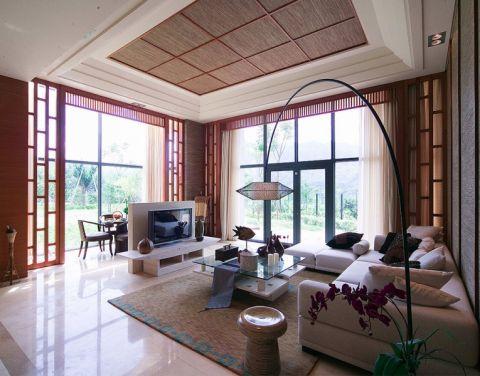 莱蒙城东南亚风格别墅装修案例图