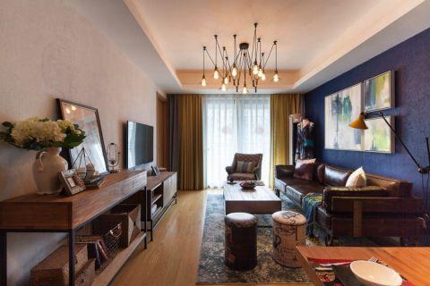 白塘壹号简美风格两居室装修实景图