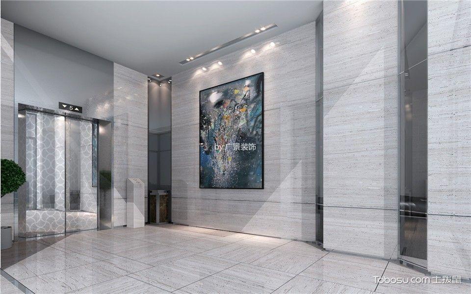 恒丰电力公司走廊设计效果图