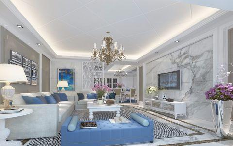 2019现代120平米北京pk10开奖视频片 2019现代二居室装修设计