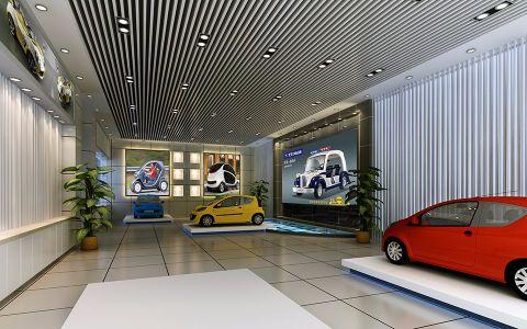 埃森堡电动车展厅设计效果图