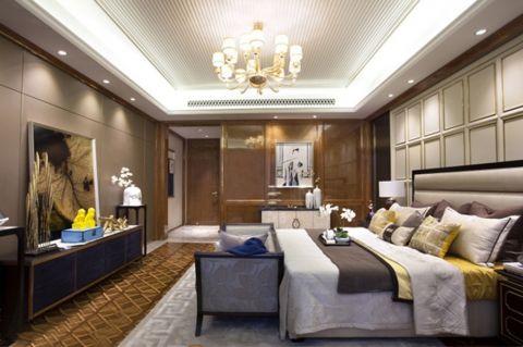 2018新中式120平米装修效果图片 2018新中式公寓装修设计