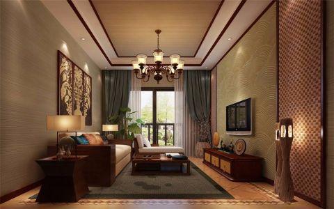 紫禁城东南亚风格效果图