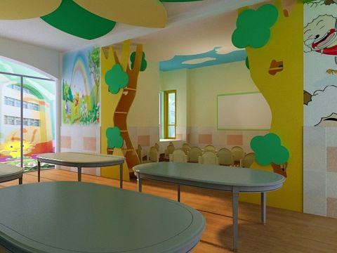幼儿园装修效果图案例