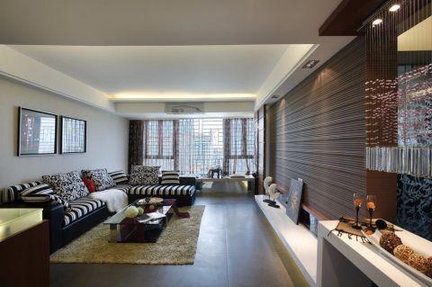 江山如画三居室113平半包简约风格装修设计图