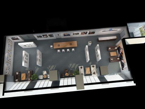 环球财讯中心办公室装潢设计图片