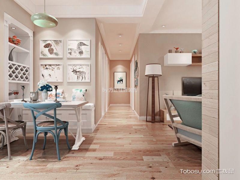 华润置地凯旋门三居室现代简约风格装修效果图