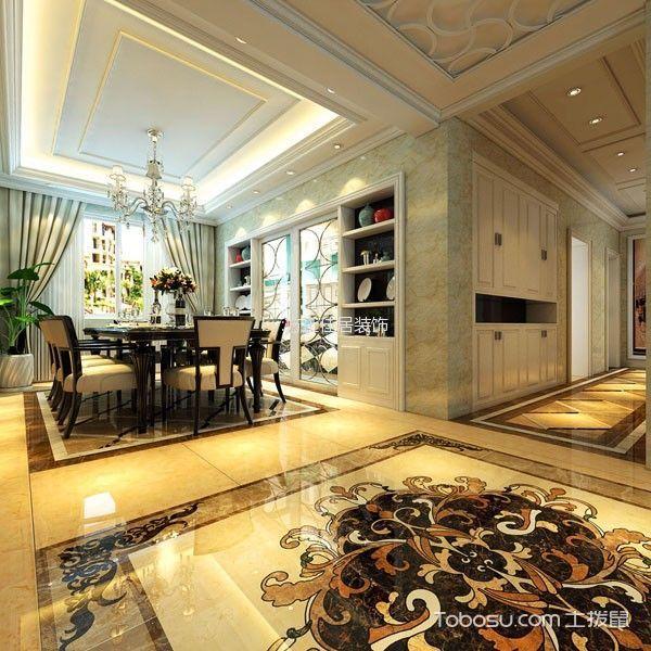 红星海世界观三居室欧式风格装修效果图
