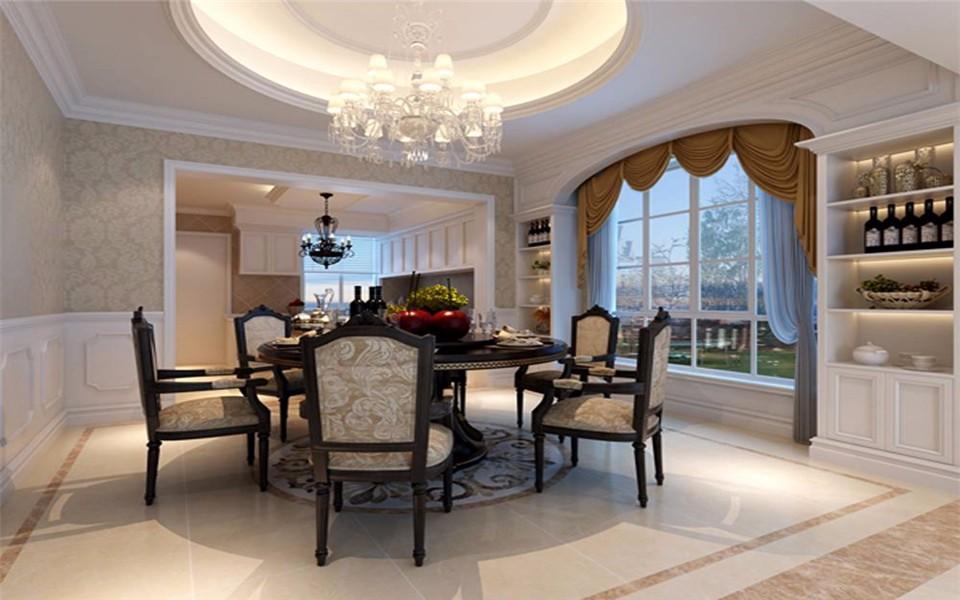 2室2卫1厅120平米欧式风格