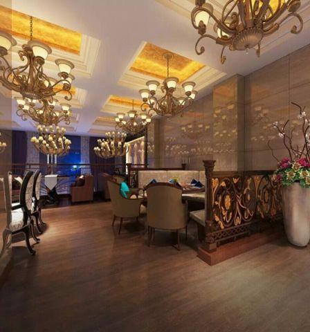 中央城酒楼美式风格装修效果图