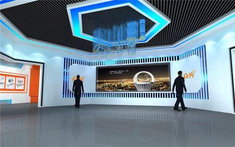 江西众光照明展厅效果图