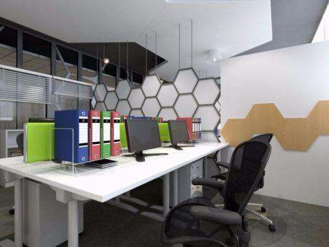 创客办公室设计效果图