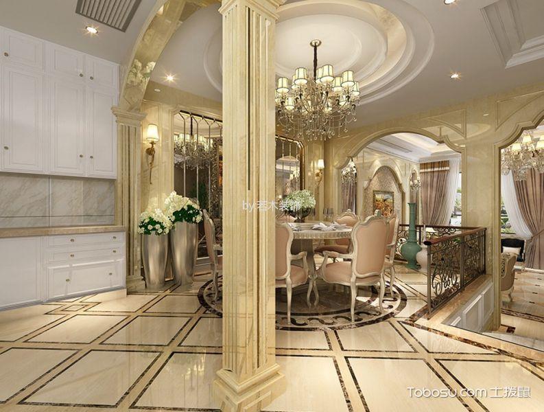 望园别墅400平欧式风格效果图