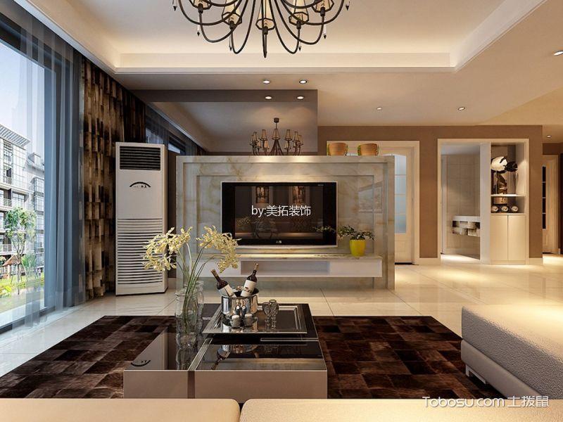 蓝领海棠湾现代简约风格装修效果图