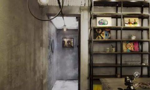 200平米复古风格餐馆装修效果图