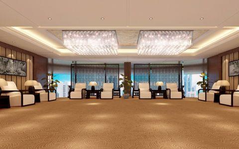东维集团欧式风格办公楼装修效果图