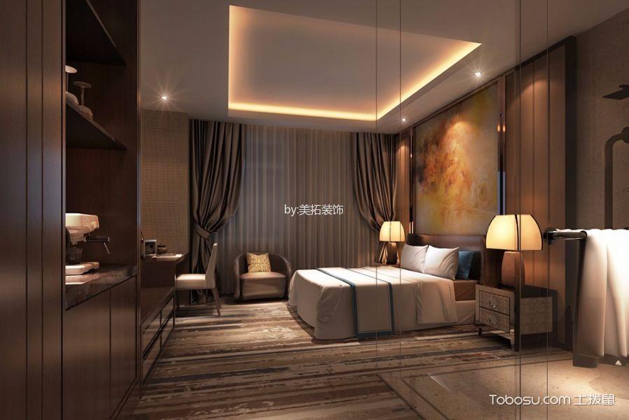 主题酒店卧室设计效果图