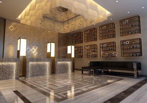 橄榄枝主题酒店装修效果图