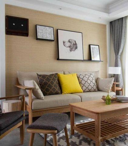 2020日式110平米装修图片 2020日式三居室装修设计图片