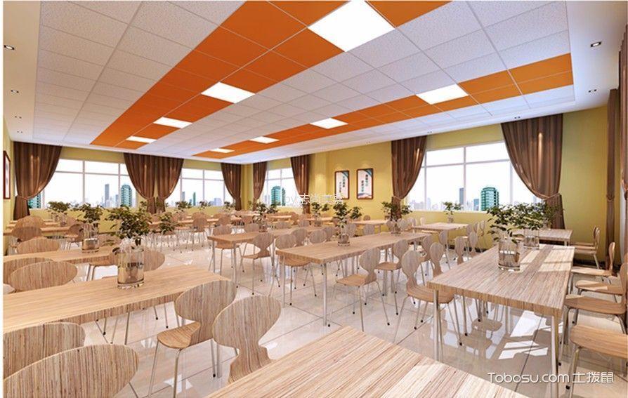 企业餐厅设计效果图