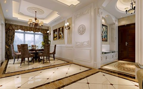2021新中式120平米装修效果图片 2021新中式公寓装修设计
