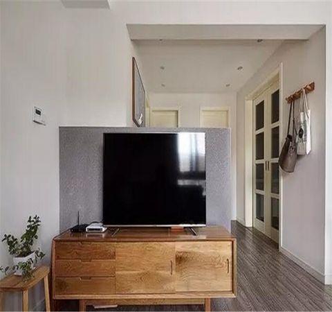 2019韩式客厅装修设计 2019韩式电视柜装修效果图片