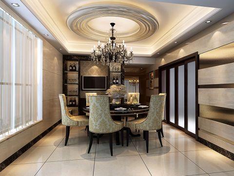 2020新古典150平米效果图 2020新古典套房设计图片