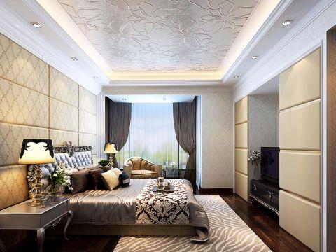 2020后现代150平米效果图 2020后现代三居室装修设计图片