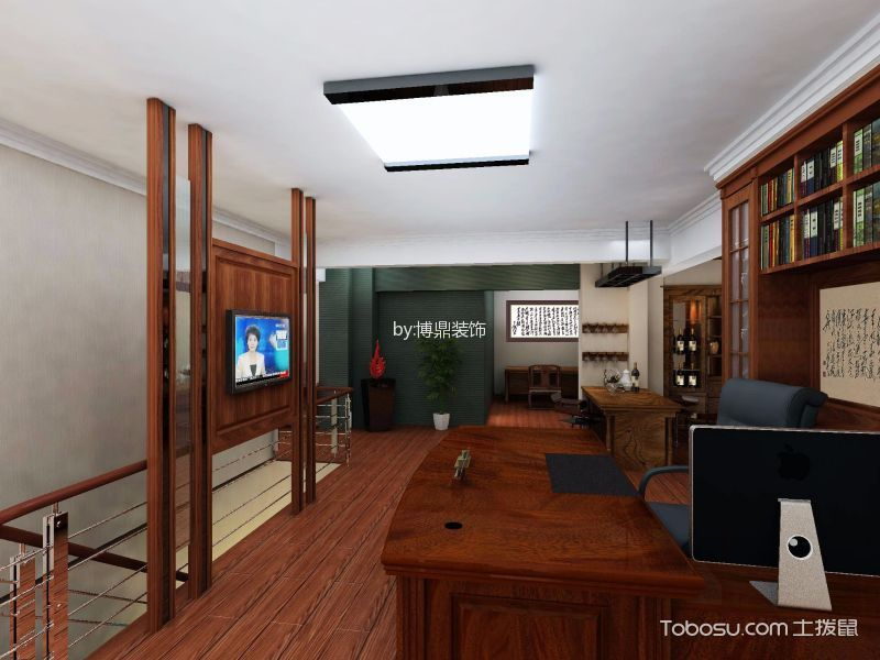 新天地广场简中风格办公室装修效果图
